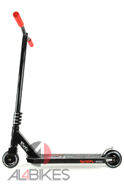 BESTIAL WOLF ROCKY PRO SCOOTER FULL BLACK R6 - Bestial Wolf Rocky Pro Scooter Red R6