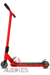 BESTIAL WOLF ROCKY R8 RED SCOOTER - Bestial Wolf Rocky Pro Scooter R8 Red