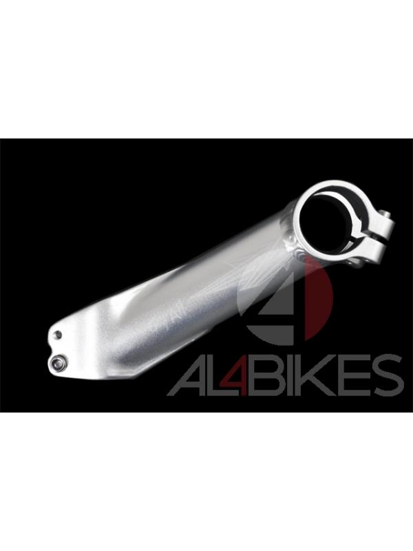 POTENCIA TRY ALL 127mm 30º 3D FORGET (Plata) - Potencia Try All 127mm 30º 3D plata