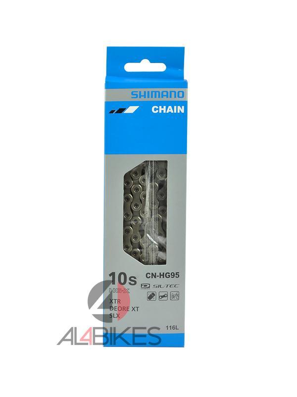 CADENA SHIMANO CN-HG95  - Cadena Shimano CN-HG95 XTR, XT, SLX