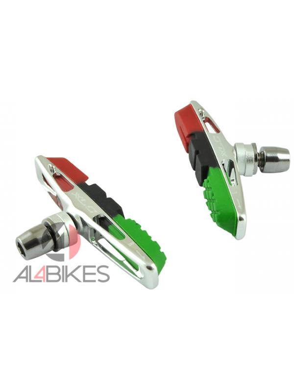 PASTILLAS XLC V-BRAKE BS-V13 - Pastillas ultraligeras XLC V-brake BS-V13