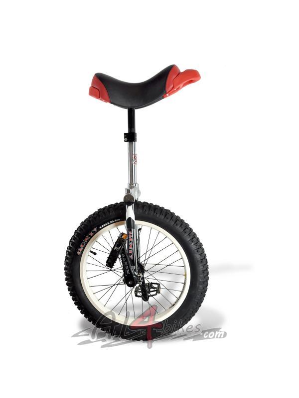 MONOCICLO TRIAL MONTY ISIS CROMADO - Monociclo trial monty isis cromado.