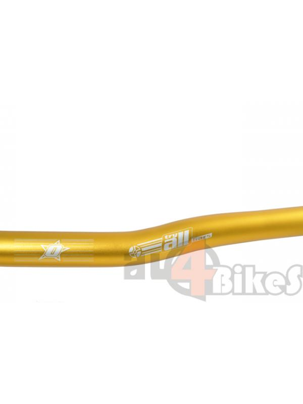 MANILLAR TRY ALL YOURSELF REPLICA 74CM ORO - Manillar Try all yourself replica.