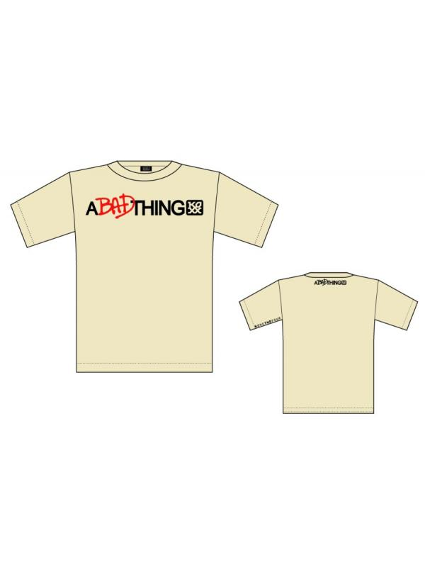 CAMISETA KOXX  A BAD THING BEIGE - Camiseta Koxx A bad thing beige.