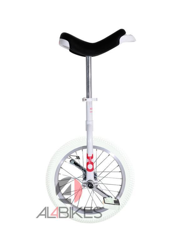 MONOCICLO ONLYONE 16 BLANCO INDOOR + REGALO PROTECCIONES - Monociclo OnlyOne blanco de 16 pulgadas