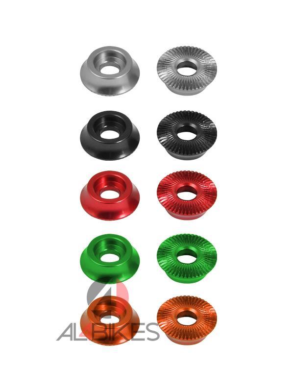 ARANDELAS MONTY PRORACE  - Nuevas arandelas ProRACE de alta calidad para los tornillos de los bujes.