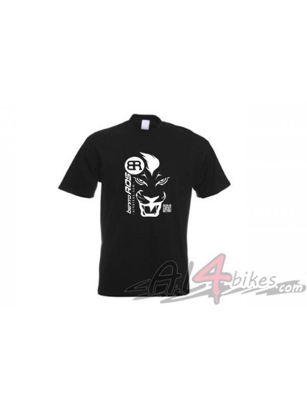 CAMISETA BENITO ROS LEON NEGRA - Camiseta Benito Ros Leon Negra