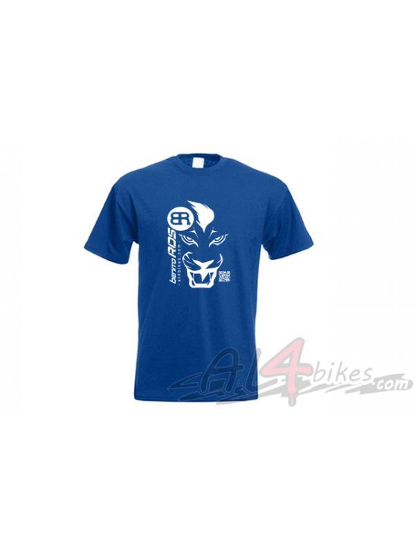 CAMISETA BENITO ROS LEON AZUL - Camiseta Benito Ros Leon Azul