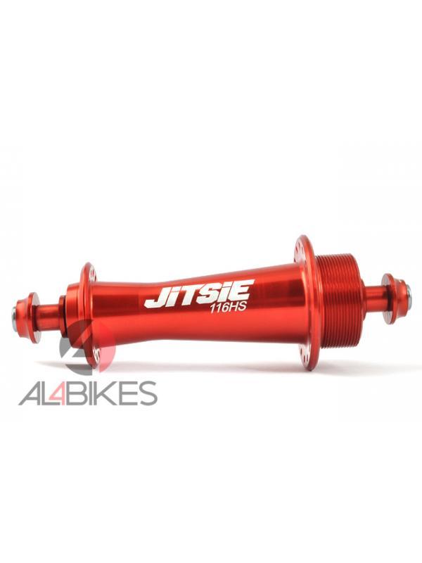 BUJE TRASERO ULTRALIGERO JITSIE RACE HS116 32A - Buje trasero ultraligero Jitsie Race Hs116 para 32 radios