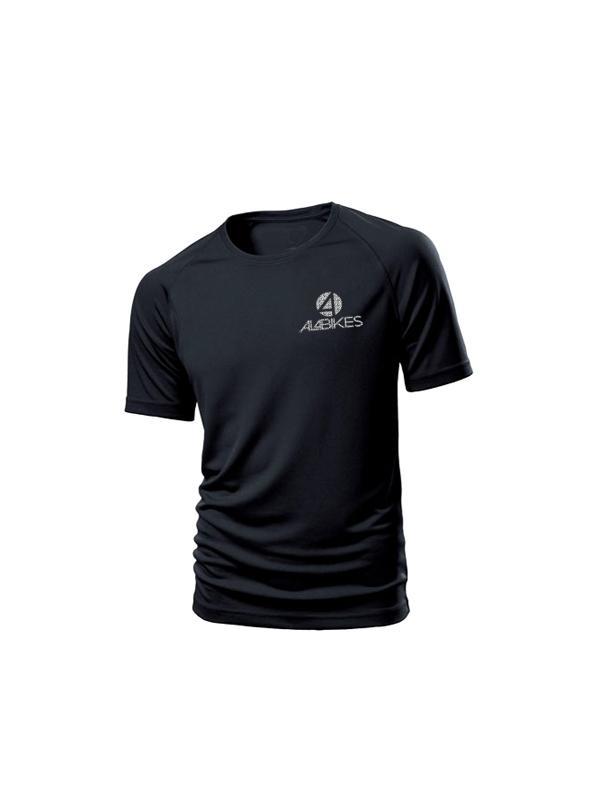 CAMISETA AL4BIKES COMPETICION NEGRA - Camiseta competición térmica al4bikes