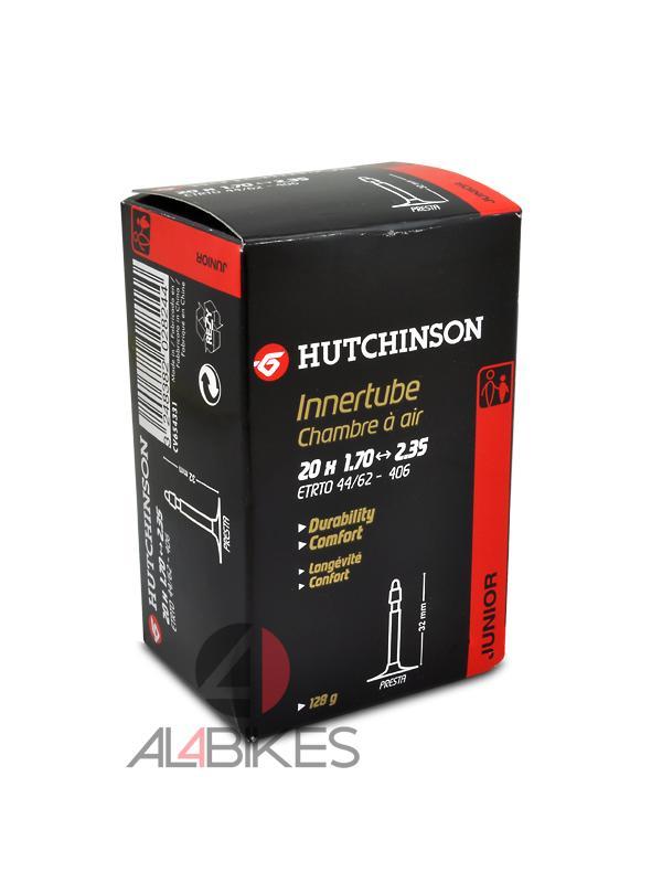 CAMARA HUTCHINSON PRESTA 20X1.70/2.35 - Cámara Hutchinson standard 20X1.70/2.35
