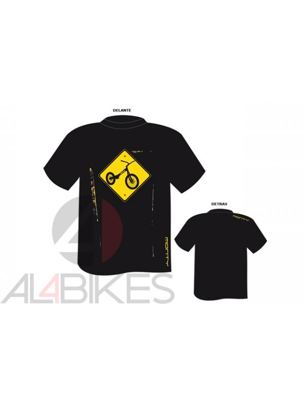 CAMISETA MONTY SEÑAL M5 - Camiseta Monty señal M5