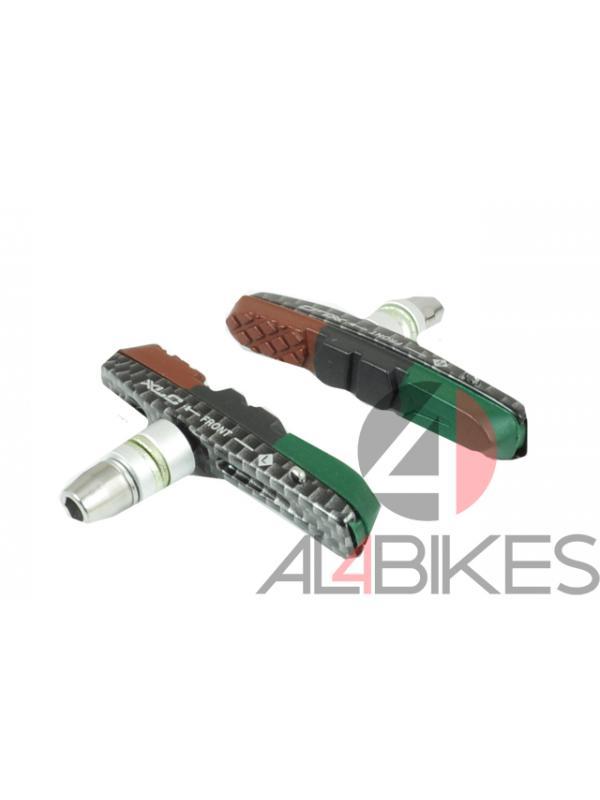 PASTILLAS V-BRAKE XLC CNC CARBON - Pastillas V-Brake XLC CNC Carbono