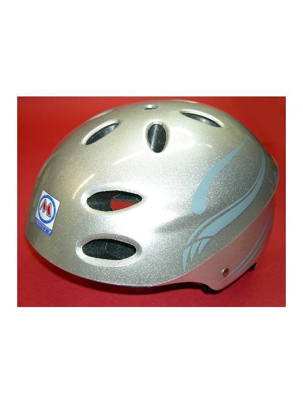 CASCO BIKETRIAL MONTY (GRIS) - Casco biketrial Monty (GRIS) Almohadillas ajustables a tres tallas S,M,L