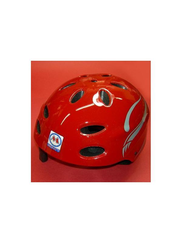 CASCO BIKETRIAL MONTY (ROJO) - Casco biketrial Monty (ROJO) Almohadillas ajustables a tres tallas S,M,L