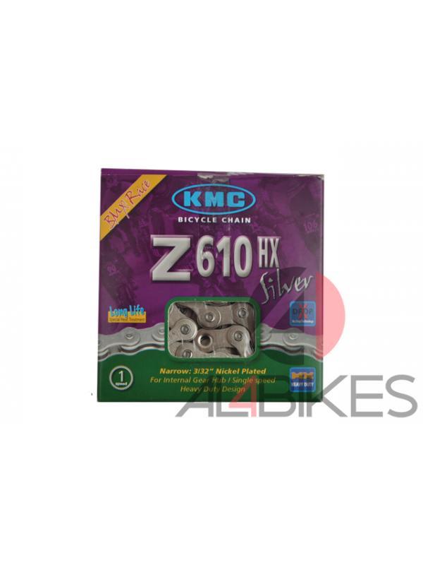 CADENA KMC Z610HX PLATA - Cadena Kmc Z610hx plata