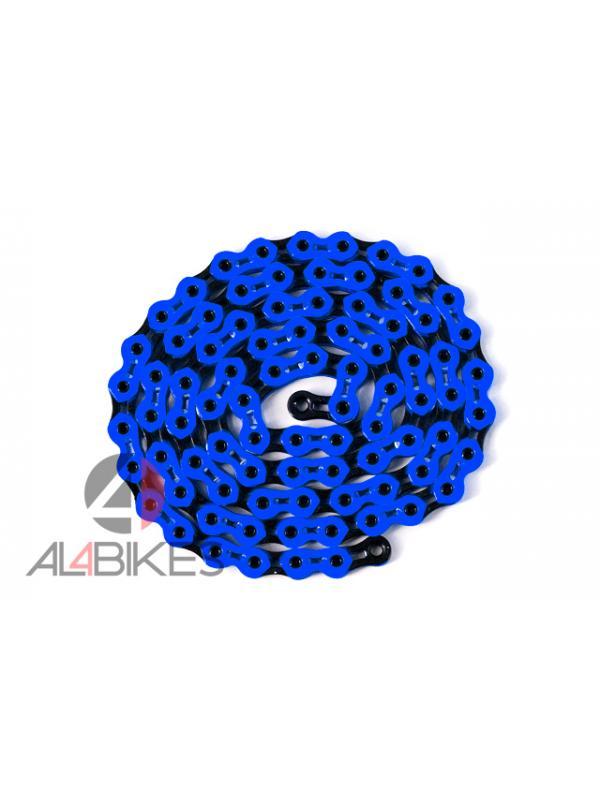 CADENA HASHTAGG K810 SL ULTRALIGHT - Nueva cadena de alta calidad Hashtagg UltraLight azul/negra