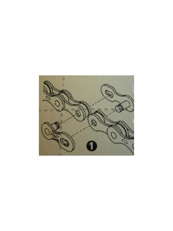 CIERRE DE CADENA 9V - Cierre rápido de cadena para nueve velocidades