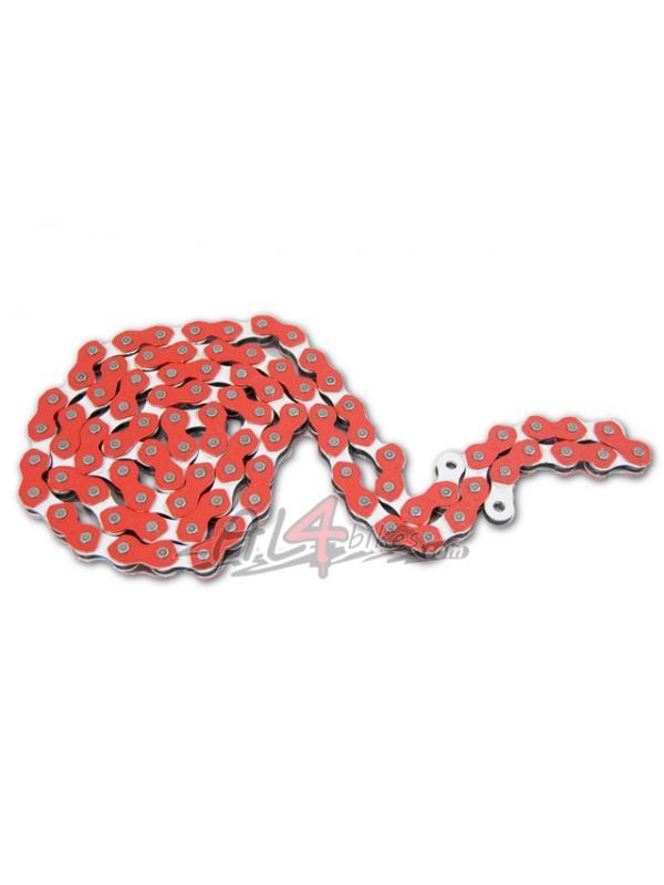 CADENA KMC COOL CHAIN 710 ROJA - Cadena KMC 45 eslabones Roja
