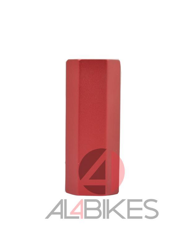 CLAMP ALUMINIO 4 TORNILLOS BLAZER PRO ROJO - Abrazadera de Aluminio en color Rojo Blazer Pro