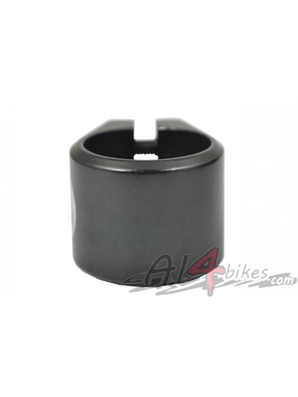CLAMP ALUMINIO FRENCH ID NEGRO - Abrazadera de Aluminio French ID Negra