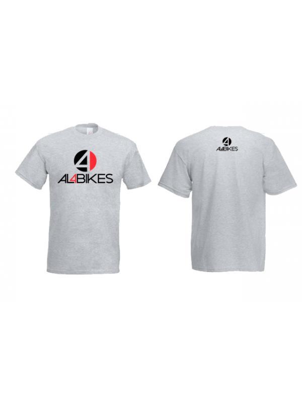 CAMISETA AL4BIKES 2012 GRIS - Camiseta Al4bikes Gris