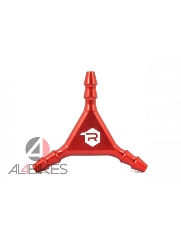 DISTRIBUIDOR DE FRENADA RACING LINE CNC ROJA - Distribuidor de frenada Racing Line