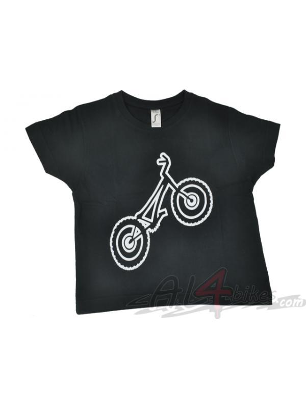 LIQUIDACION CAMISETA MONTY NEGRA - Camiseta Monty negra
