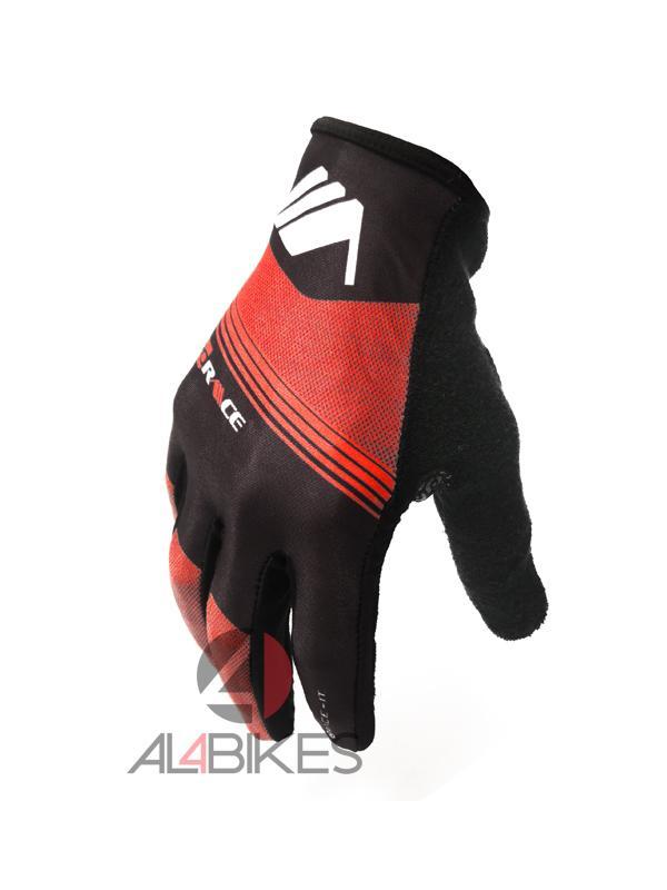 GUANTES PRORACE MONTY NEGRO/NARANJA + PUÑOS DE REGALO - Nuevos guantes de competición diseñados y desarrollados para el uso de Trial Monty ProRace