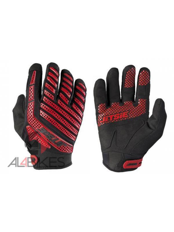 GUANTES JITSIE OMNIA ROJO / NEGRO - Los guantes Jitsie Omnia diseñados para las condiciones más duras