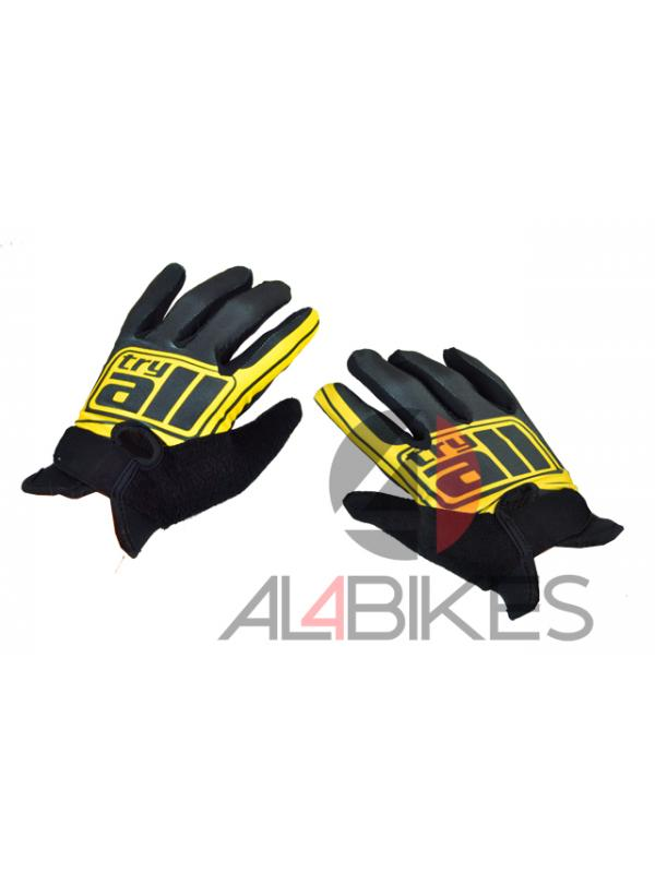 GUANTES TRY ALL FINOS AMARILLOS