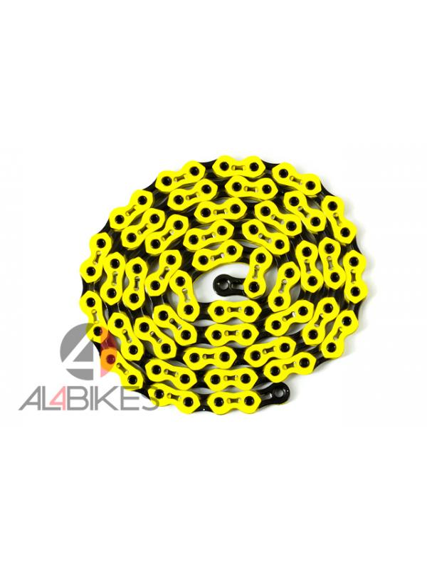 CADENA HASHTAGG K810 SL ULTRALIGHT - Nueva cadena de alta calidad Hashtagg UltraLight 2014 amarilla/negra