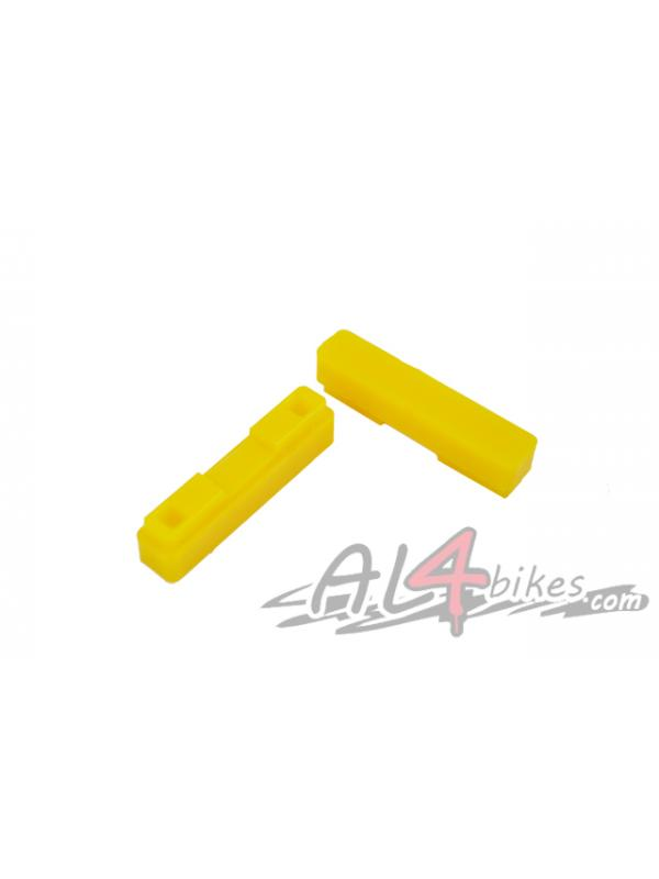 GOMAS DE PASTILLAS HEATSINK WORLD CHAMP - Goma de pastillas para Heatsink World Champ Amarillo