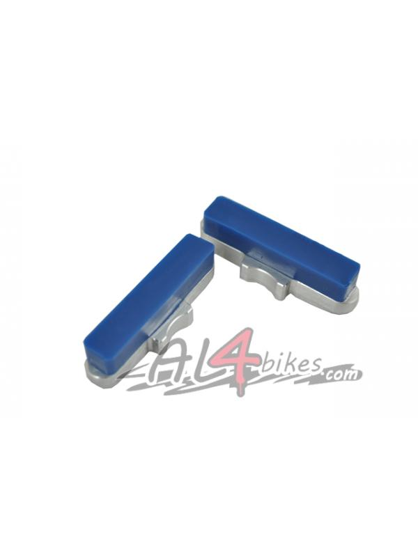 PASTILLAS HEATSINK CNC AZULES - Pastillas de freno Heatsink CNC Azules