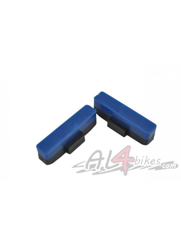 PASTILLAS HEATSINK AZULES - Pastillas de freno Heatsink Blue