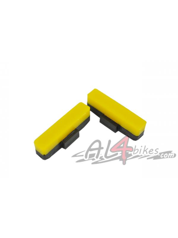 PASTILLAS HEATSINK AMARILLO - Pastillas de freno Heatsink Amarillo