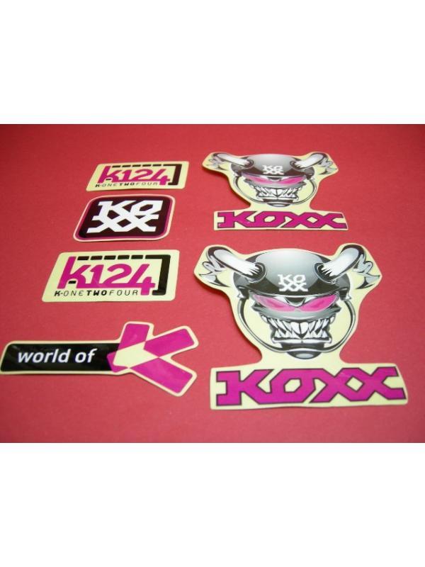 KIT ADHESIVOS KOXX VIOLETA - Kit adhesivos Koxx en color violeta.
