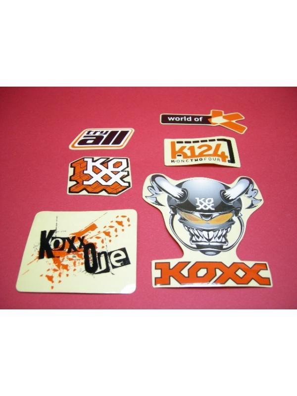KIT ADHESIVOS KOXX NARANJA - Kit adhesivos Koxx en color naranja.