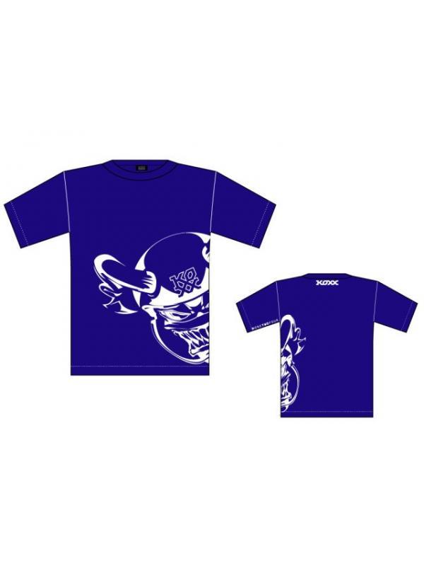 CAMISETA KOXX MONSTER BLUE - Camiseta Koxx Monster blue.