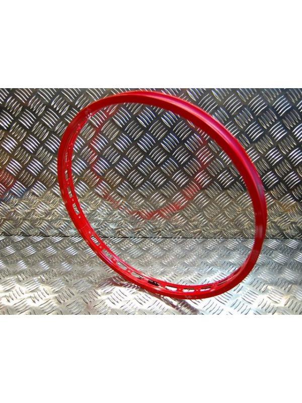 LLANTA DELANTERA MONTY 28T ROJA 2008 - Nueva llanta Monty delantera en color rojo vivo