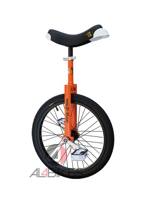 MONOCICLO QUAX LUXUS 20 NARANJA + REGALO PROTECCIONES - Monociclo de 20