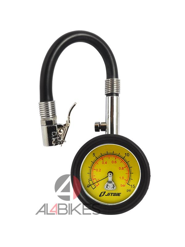 MEDIDOR DE PRESION JITSIE 0-15 PSI - Medidor de presión 0-15 PSI