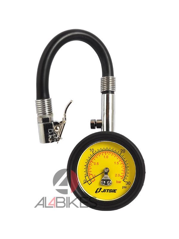 MEDIDOR DE PRESION JITSIE 0-30 PSI - Medidor de presión 0-30 PSI