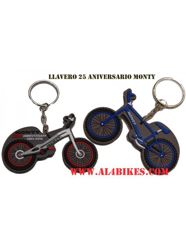LLAVERO MONTY 25 ANIVERSARIO - Llavero Monty 25 aniversario