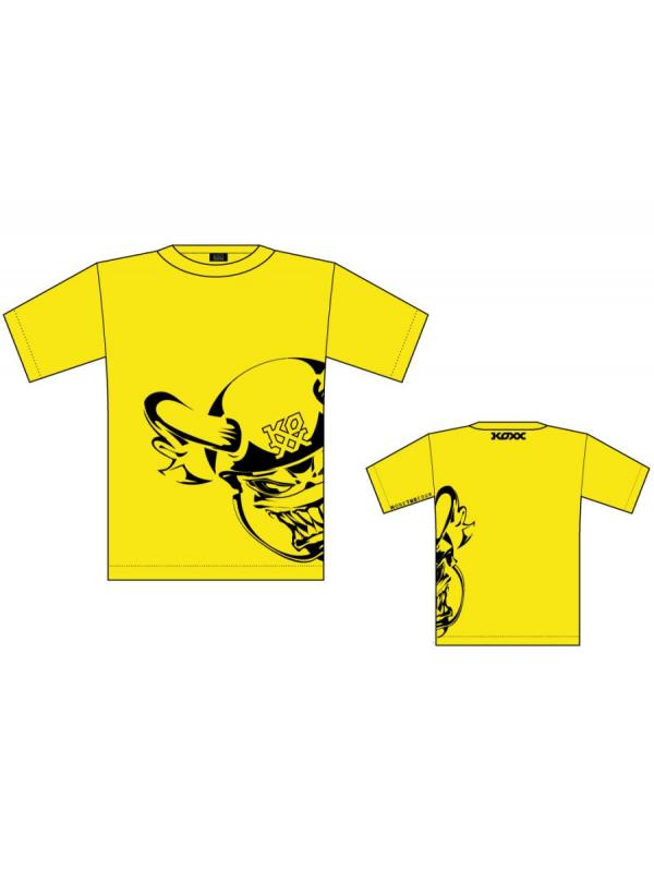 CAMISETA KOXX MONSTER YELLOW - Camiseta Koxx Monster Yellow.