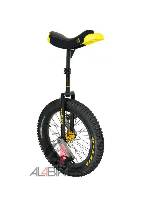 MONOCICLO QUAX MUNI 19 TRIAL BLACK + ESPINILLERAS REGALO - Nuevo monociclo de trial Quax Muni 19