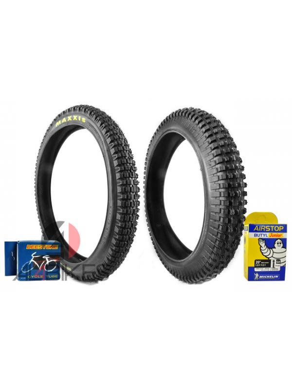 PACK NEUMATICOS MAXXIS-MONTY CON CAMARAS - Pack neumáticos con camaras y envío gratis*