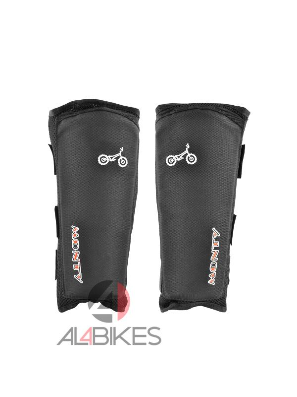 PACK ESPINILLERAS Y CALCETINES MONTY - Pack espinilleras y calcetines Monty