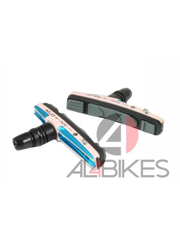 PASTILLAS V-BRAKE XLC CNC PINK - Pastillas V-Brake XLC CNC Pink