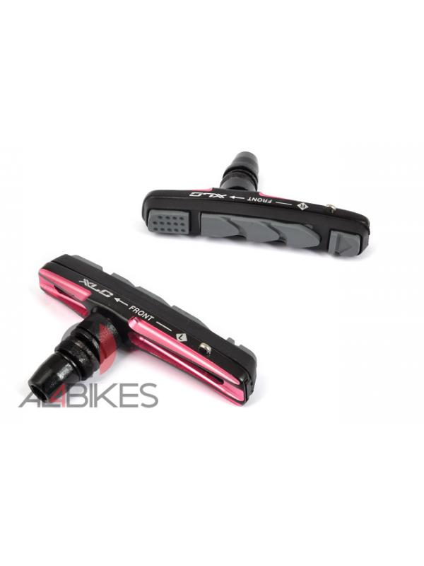 PASTILLAS V-BRAKE XLC CNC BS-V08 PINK - Pastillas V-Brake XLC CNC BS-V08 Pink